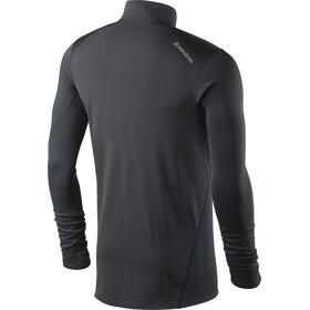 Houdini M's Phantom Zip Shirt Trueblack/Trueblack